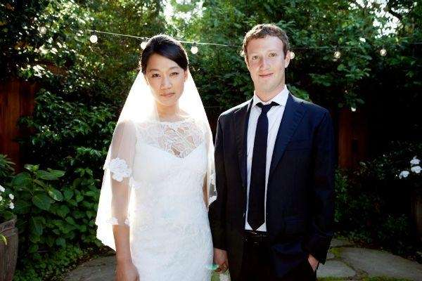 Mr. and Mrs. Mark Zuckerberg and Priscilla Chan