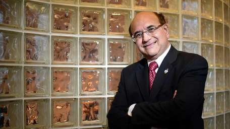 Raj Mehta, chairman and chief executive of Infosys