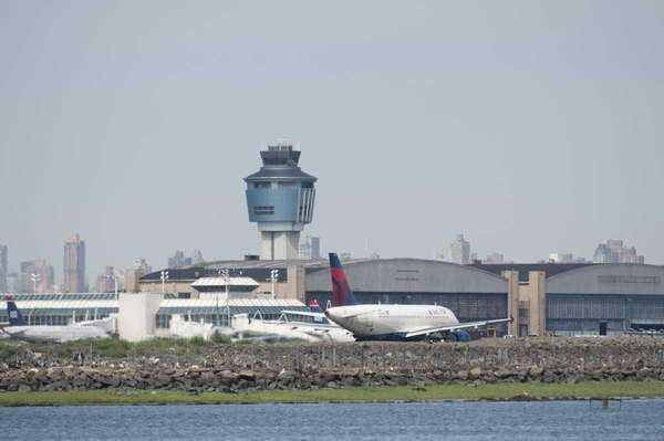 A file photo of LaGuardia Airport.