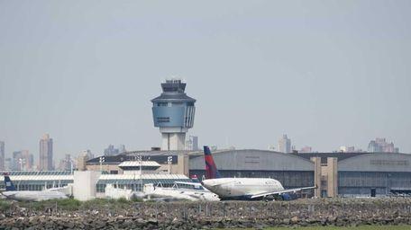 A file photo of LaGuardia Airport.