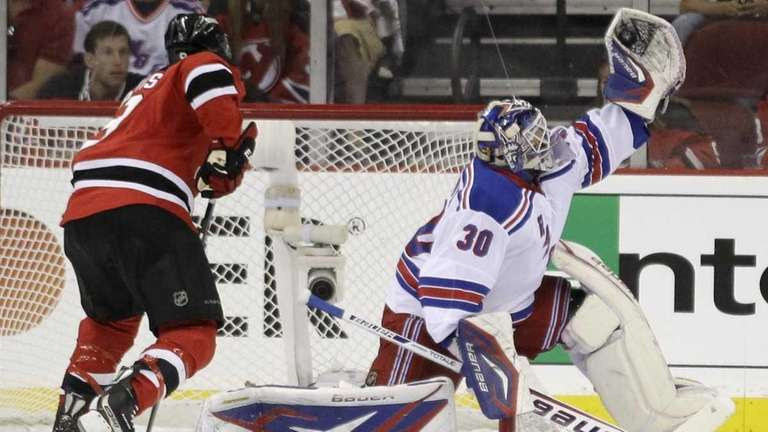 Devils Won T Let Lundqvist S Play Get Them Down Newsday