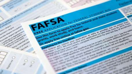 You can file the FAFSA online at studentaid.ed.gov,