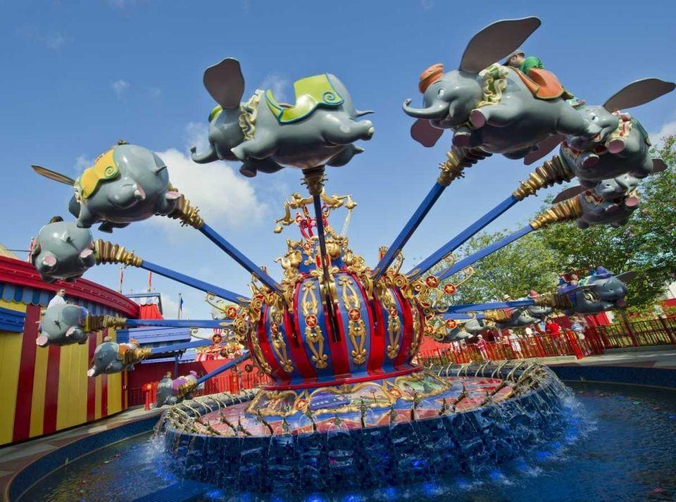 A massive renovation of Fantasyland inside the Magic