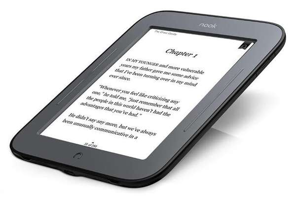 One of Barnes & Noble's Nook models.