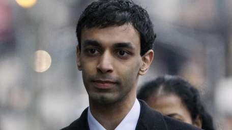 Dharun Ravi, former Rutgers University student, at his