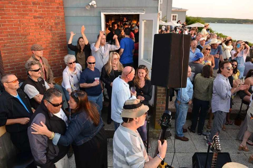 Grand Folk Railroad gets the crowd moving during