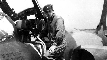 Major John F. O'Grady at the Takhli Royal