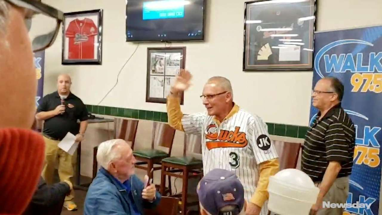 LI Ducks part-owner and Mets great Bud Harrelson
