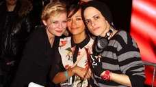 Kirsten Dunst, Rashida Jones and Samantha Ronson