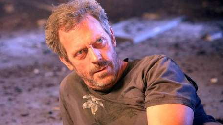 Hugh Laurie as House in the two-hour,