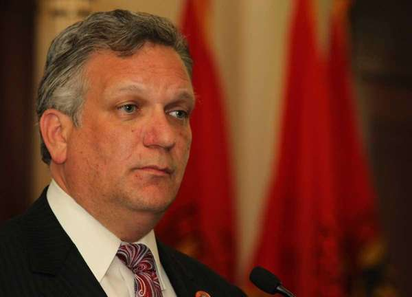 Nassau County Executive Edward P. Mangano. (May 17,