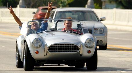 Jay Leno talks race rivalries with Matt Damon,
