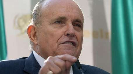 Rudy Giuliani, President Donald Trump's personal attorney and