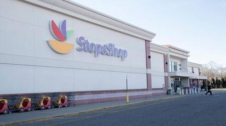 A Stop & Shop supermarket in Riverhead, seen
