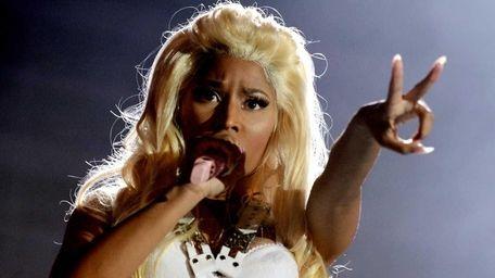Singer Nicki Minaj performs at 102.7 KIIS FM's