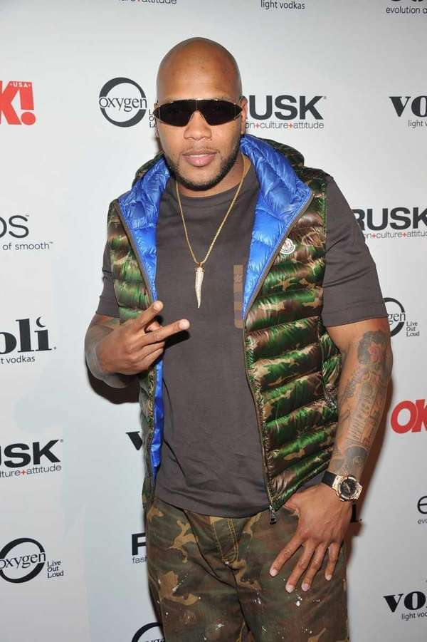 Flo Rida attends OK! Magazine Sexy Singles Party