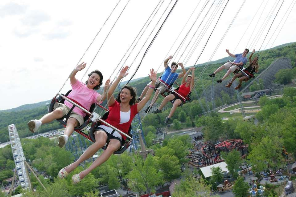 Six Flags' SkyScreamer, which opened in May of