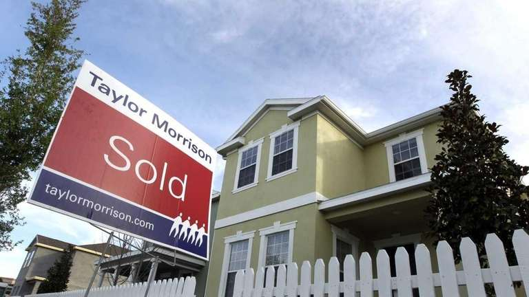 Sales of newly built homes rose in April,