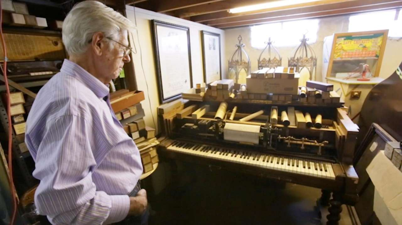 Richard Smith, owner of The Piano Exchange in