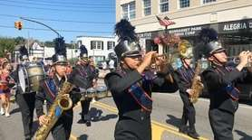 The Manhasset High School marching band spent Sept.