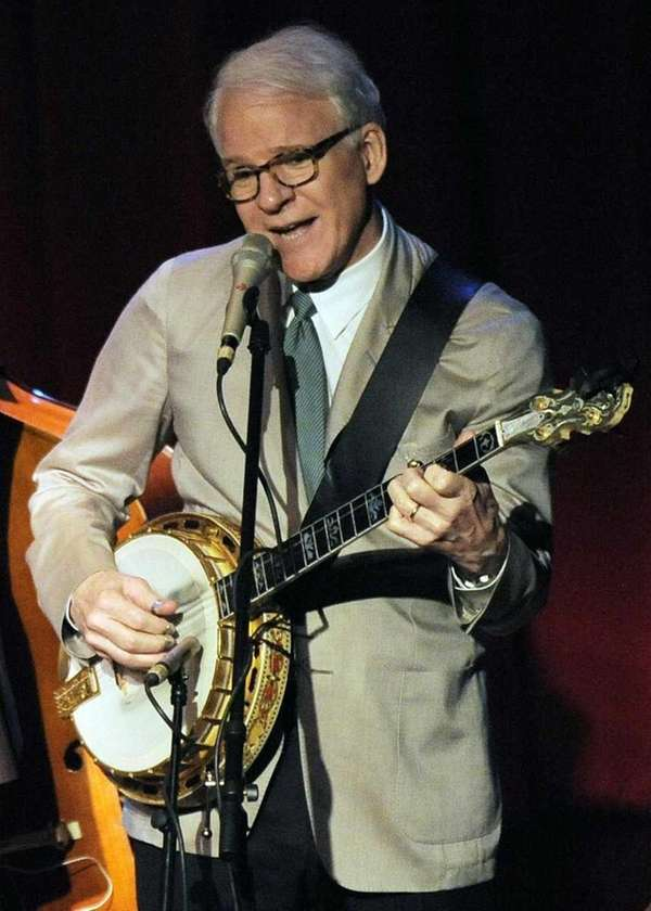 In this file photo, Steve Martin performs with