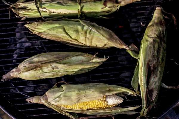 Grilled corn. (May 12, 2012)