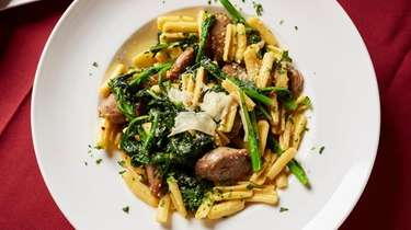 House ricotta cavatelli sautéed with broccoli rabe and