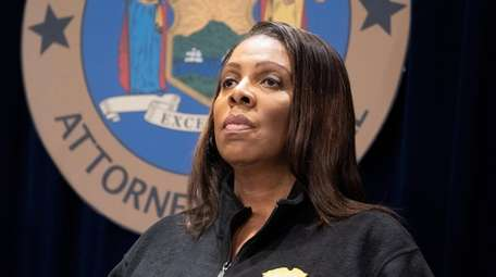 New York State Attorney General Letitia James said