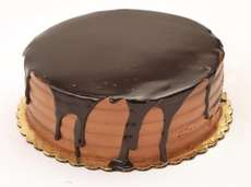 A chocolate ganache cake is one of the