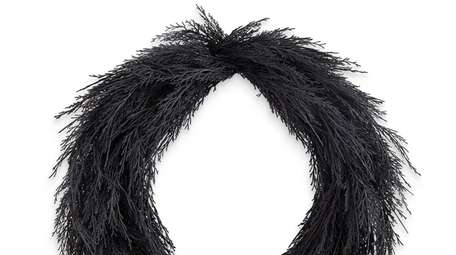 The Black Pine Wreath at Crate and Barrel.