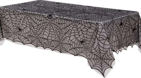 This tablecloth is available from Party City.