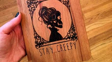 The Stay Creepy cheeseboard at Wit & Whim