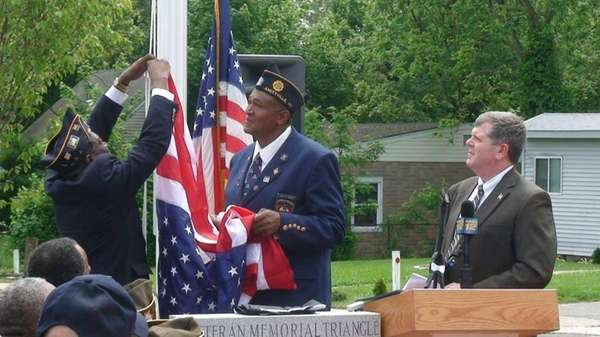Members of the American Legion Post 1218 Al