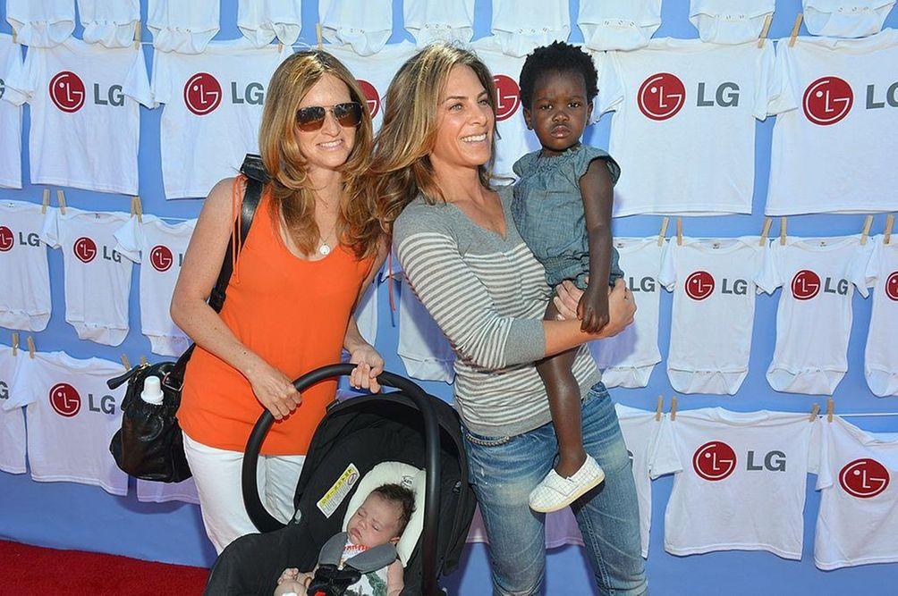 Parents: Jillian Michaels and Heidi Rhoades Children: Phoenix,