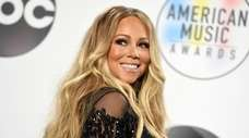 Mariah Carey attends the 2018 American Music Awards