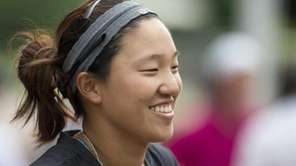 MacArthur High School's Annie Park was all smiles