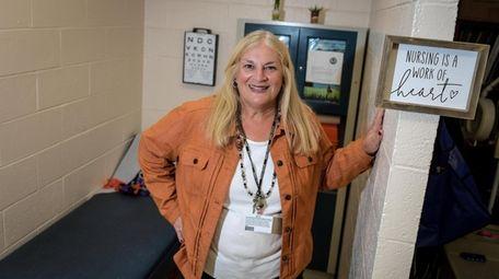 Paula Saltzman, school nurse at Wood Park Primary
