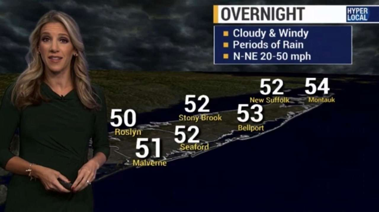 A coastal flood warning is in effect for