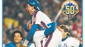 The cover to Newsday's special commemorative section Mets