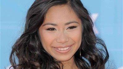 Jessica Sanchez arrives at the