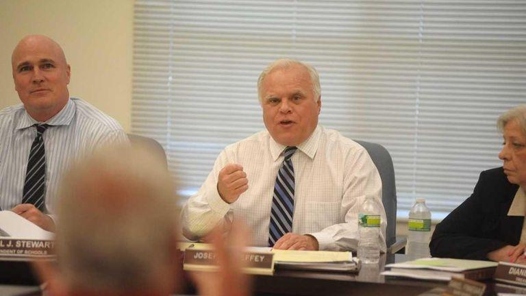 President of the Center Moriches school board, Joseph