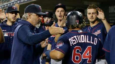 DETROIT, MI - SEPTEMBER 24: Willians Astudillo #64