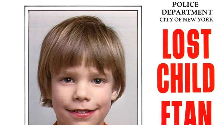 Etan Patz went missing in Manhattan in 1979.