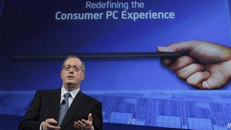 Intel chief executive Paul Otellini talks about Ultrabooks