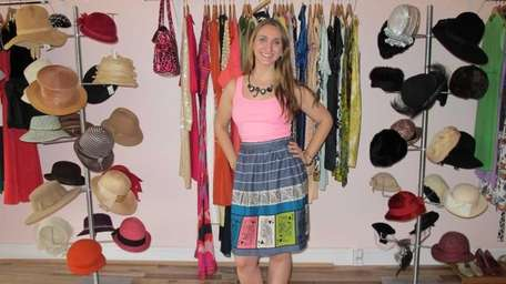 Paper Doll Vintage Boutique owner Dominique Maciejka in