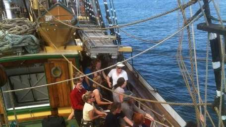 Tall ships will again be part of the