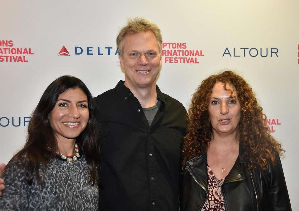 Shown from left: Jannat Gargi, Peter Hedges and