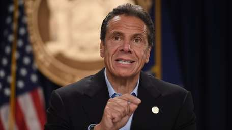 Gov. Andrew M. Cuomo on Friday vowed to