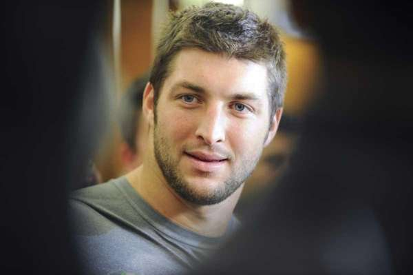 New York Jets quarterback Tim Tebow at the