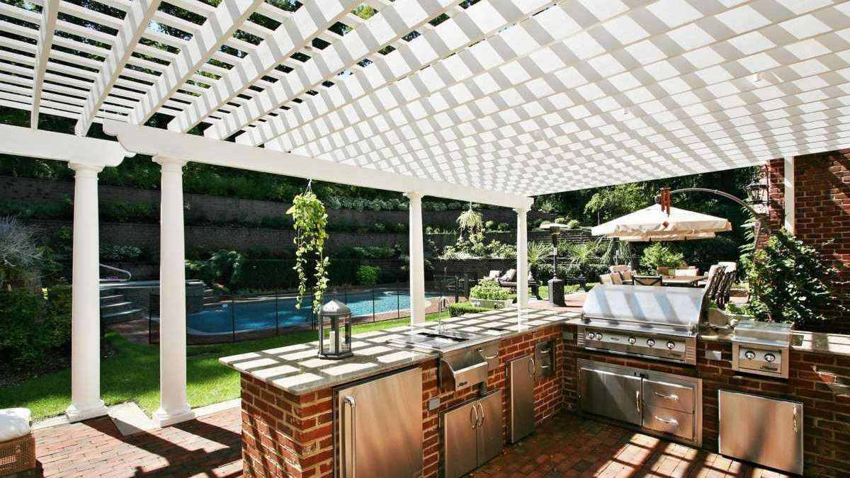 An Outdoor Kitchen On A Budget